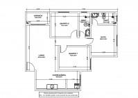 Planta baixa Apartamento 3